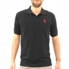 Playera Polo Houston Ropa 3034 Negro